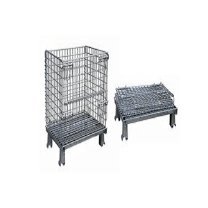 Foldable Wire Box - Industrial and Transport Equipments
