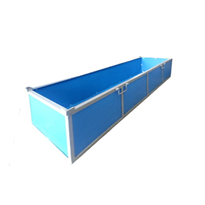 Metal Supported PP Transport Boxes - Industrial and Transport Equipments